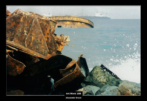 Alexander Drum - Art Work 188 shipwreck