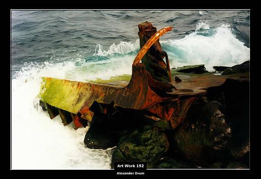 Alexander Drum - Art Work 192 shipwreck
