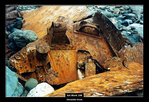 Alexander Drum - Art Work 198 the rusty ship