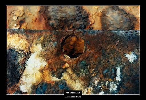 Alexander Drum - Art Work 206 ship rust