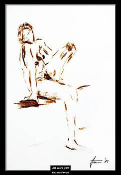 Alexander Drum - Art Work 209 young woman