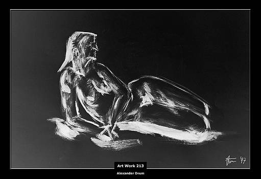 Alexander Drum - Art Work 213 old woman