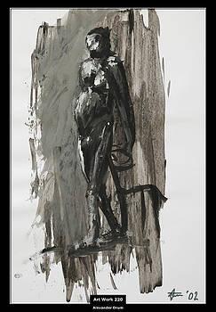Alexander Drum - Art Work 220 old man