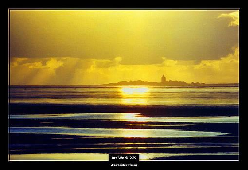 Alexander Drum - Art Work 239 Cuxhaven Insel Neuwerk