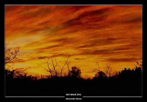 Alexander Drum - Art Work 241 Sunset
