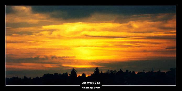 Alexander Drum - Art Work 242 sunset
