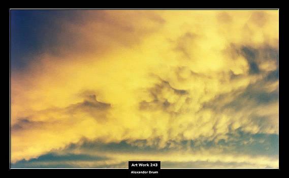 Alexander Drum - Art Work 243 sunset