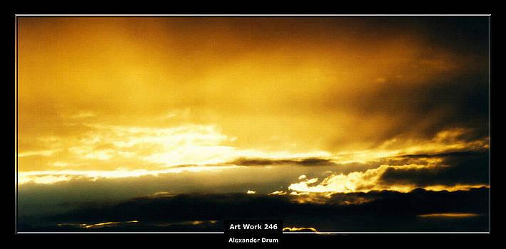 Alexander Drum - Art Work 246 sunset