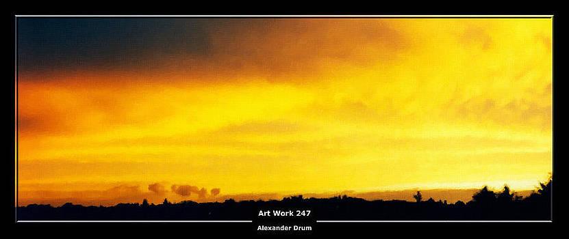 Art Work 247 sunset by Alexander Drum