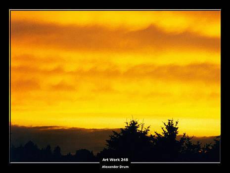 Alexander Drum - Art Work 248 sunset