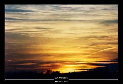 Alexander Drum - Art Work 251 sunset