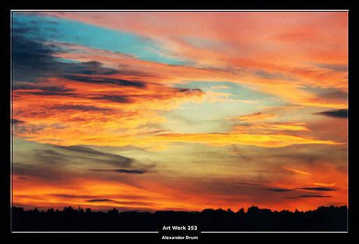 Alexander Drum - Art Work 253 Sunset