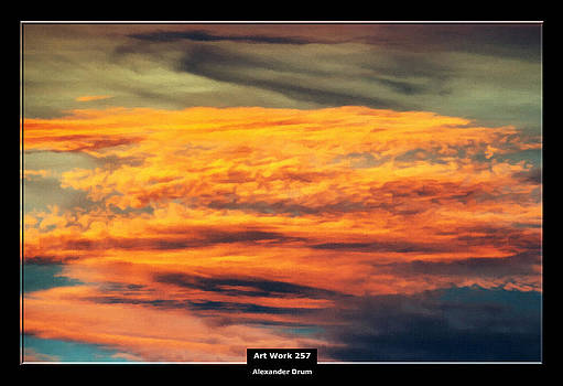 Art Work 257 sunset by Alexander Drum