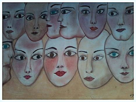 Artds- Art of faces by Souad Dehhani