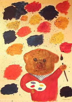 Artisan the Bear by Tracey Williams