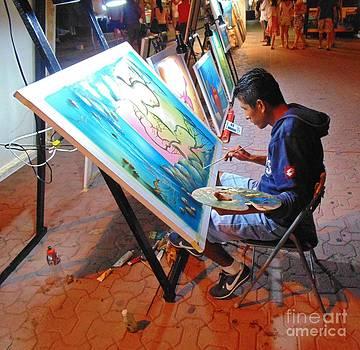 John Malone - Artist at Work