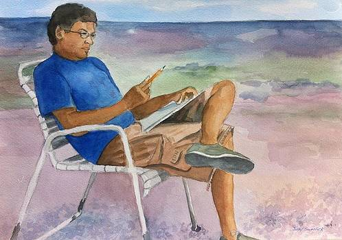 Artist at Work by Judy Swerlick