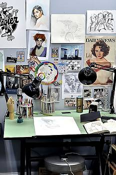 Artist Desk II by Andres LaBrada