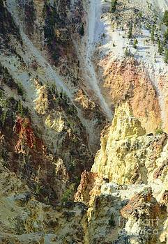 Artist Palette Of Yellowstone by Kathleen Struckle
