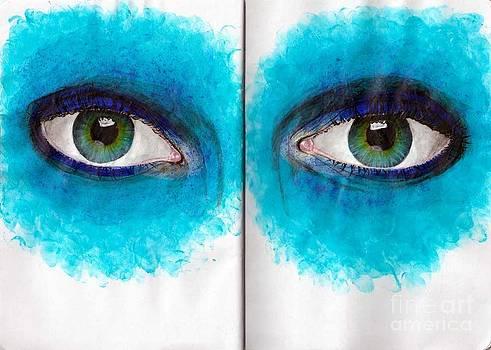 Artistic Eye Make-Up by Laura Kayon
