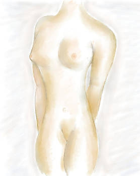 Artistic Nude Female by Ricardo  De Almeida