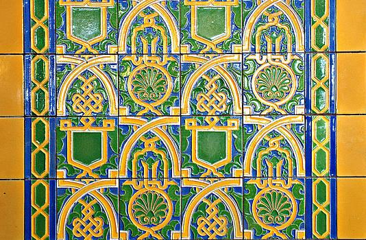Artistic Tile by Karin Hildebrand Lau