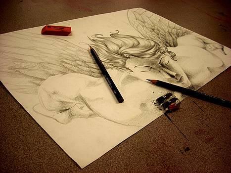 Artist's Angel by Diane Peters