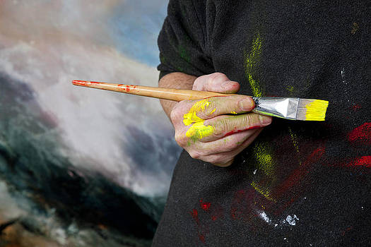 Artist's Hand by Neil McBride