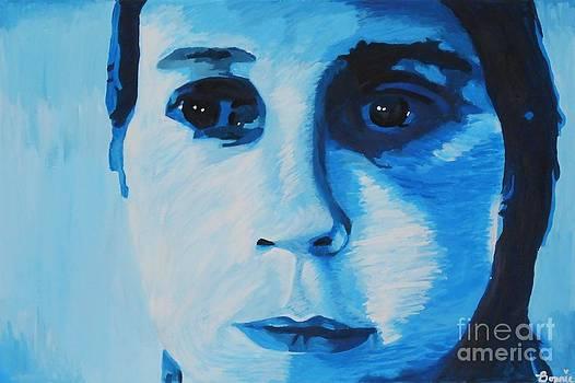 Artists Self-Portrait #7 by Bonnie Cushman