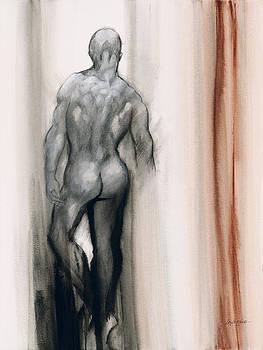 Artists Stroke IV by Jerome Lawrence