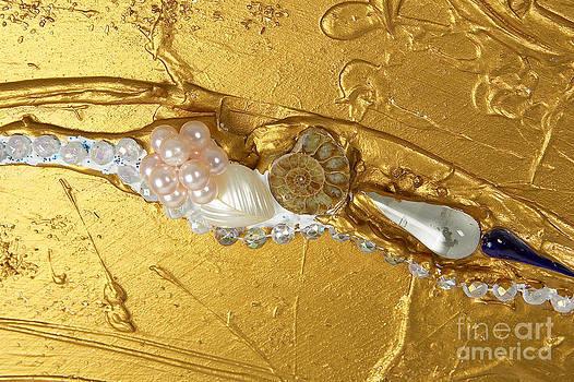 Heidi Sieber - Artscape No. 3 The golden flow of peace