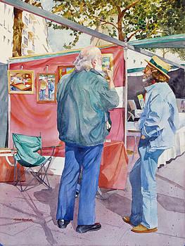 Artstanding Conversation by John Ressler