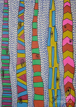 Artsy Birch by Marcia Weller-Wenbert