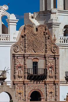 Artwork at San Xavier del Bac by Ed Gleichman