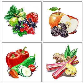 Irina Sztukowski - ArtZ Vitamins Colorful Mix
