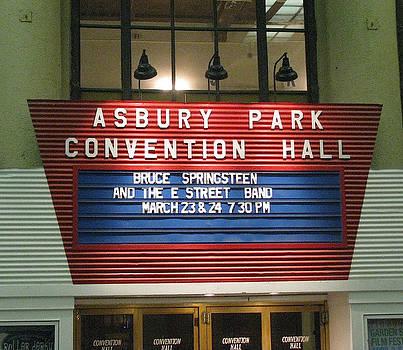 Asbury Park Convention Hall Marquee by Melinda Saminski