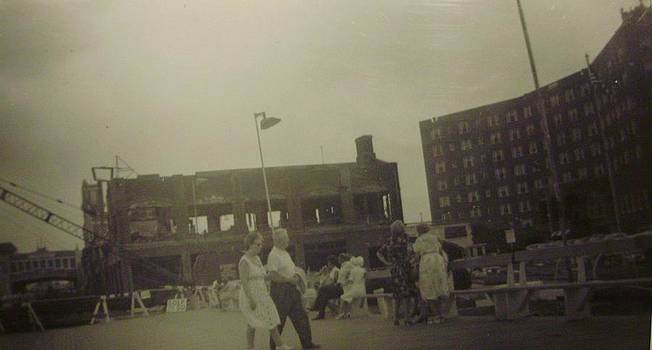 Asbury Park NJ Casino After Fire with The Berkeley by Joann Renner