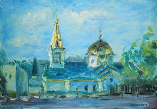 Ascension Cathedral by Marina Lavrova