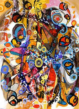 Ascultand jazz by Elena Bissinger