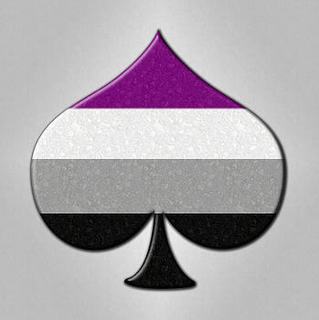 Asexual Ace Symbol by Tavia Starfire