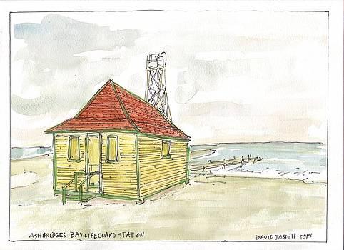 Ashbridges Bay Lifeguard Station by David Dossett