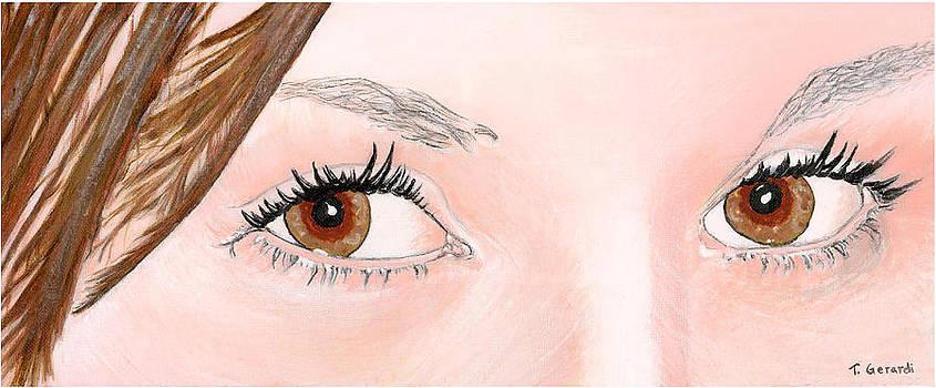 Ashley's Eyes by Anthony Gerardi