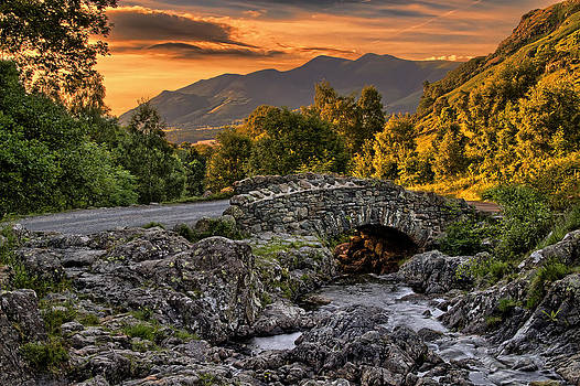 Ashness Bridge by Roger Green