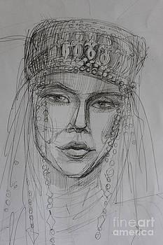 Asia Girl by Victoria  Tekhtilova