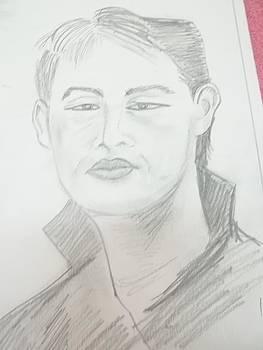 Asian faces 2 by Iris Devadason