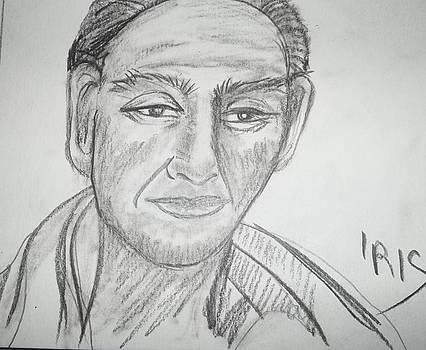Asian faces 5 by Iris Devadason