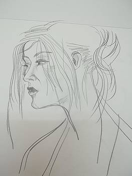 Asian girl by Iris Devadason