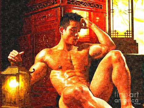 Asian Lantern by Brian Joseph