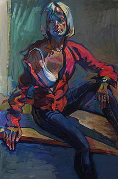 Asia's Portrait by Piotr Antonow