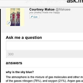 Ask My Q's And I'll Give You A's by Makae Kae